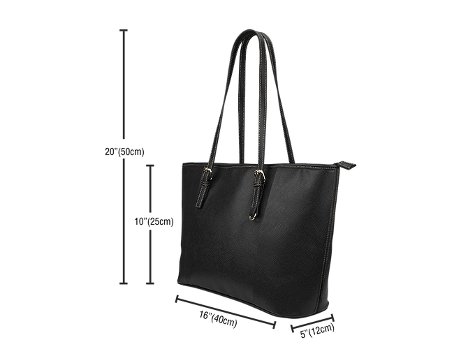 LEATHER TOTE BAG Sizing