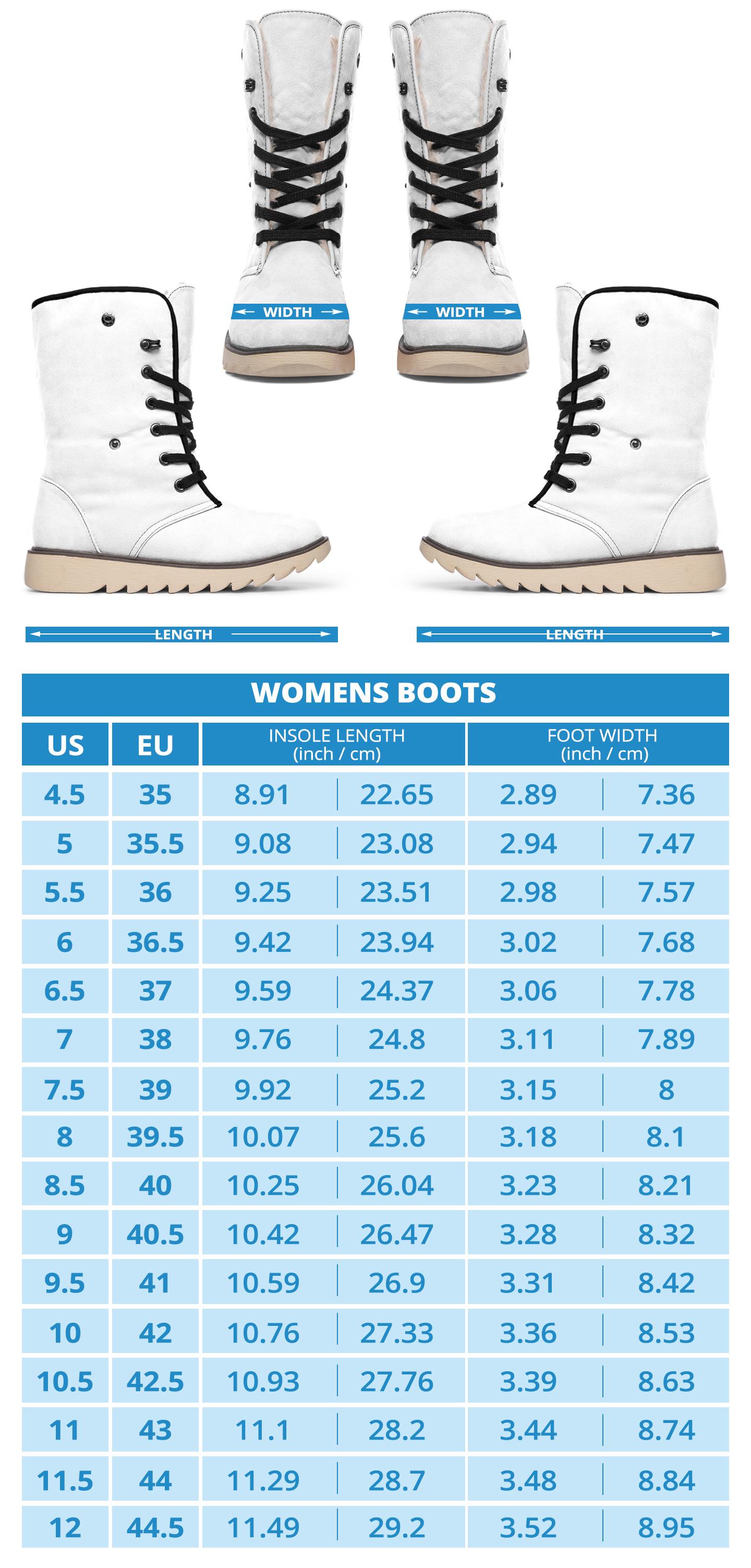 Polar Boots Sizing