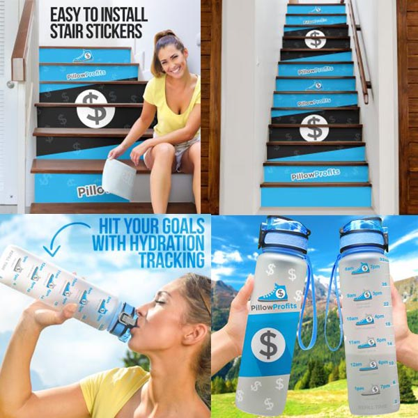 New Product Launches – Stair Stickers and Hydro Tracking Bottles!
